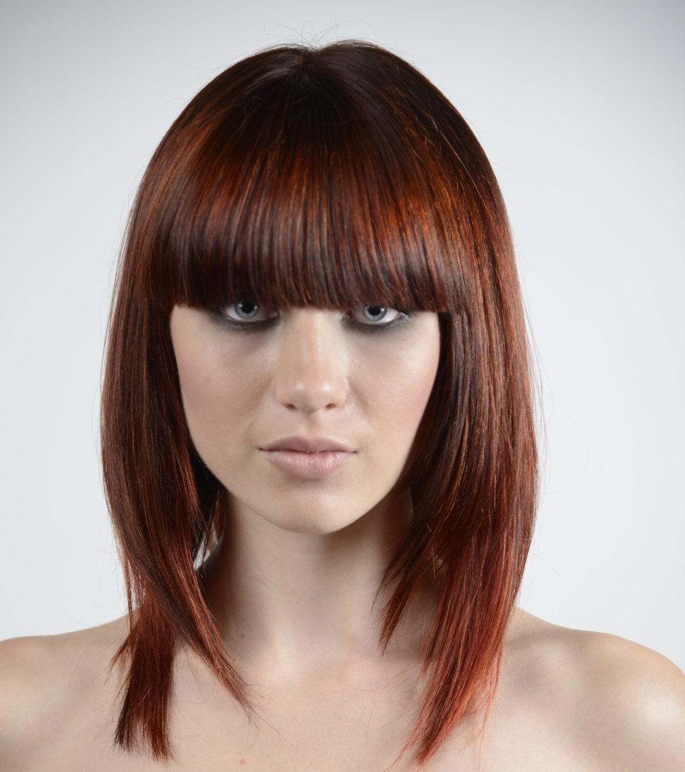 Brown Cinnamon Hair Color At color show 2012,